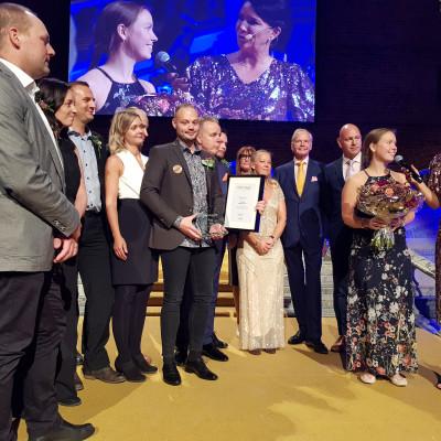 Ica Maxi Nacka, vinnare av priset Årets Butik på Dagligvarugalan