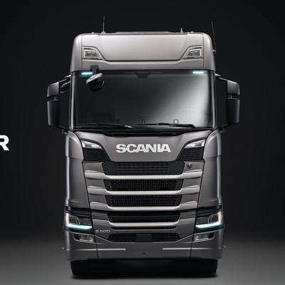 Scania deltager på transportmessen Transport 2017