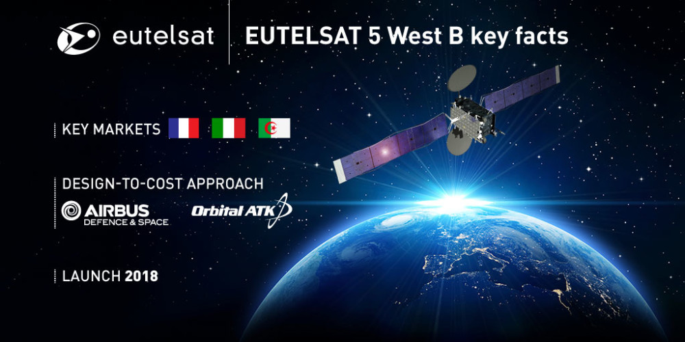 eutelsat confie airbus defence and space et orbital atk la eutelsat. Black Bedroom Furniture Sets. Home Design Ideas
