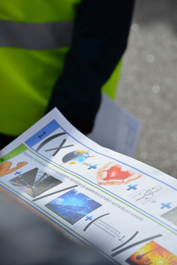 Aarrejahti sai työntekijät liikkeelle KiiltoCleanin Turun toimipisteessä.