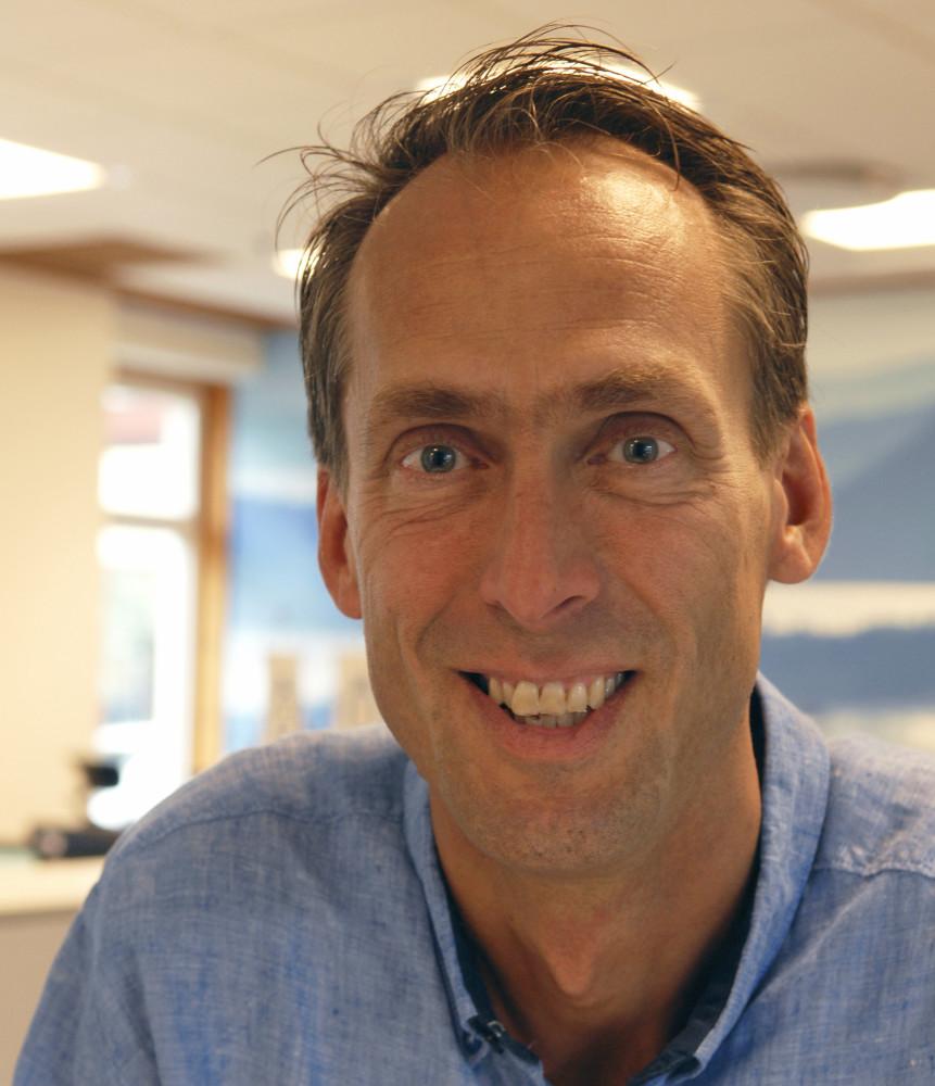 Fredrik Holmgren, näringslivschef i Örnsköldsviks kommun
