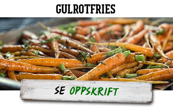 Gulrotfries
