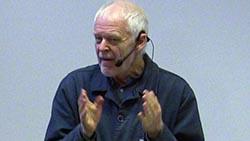 Thomas Hammarberg medverkande vid konferensen
