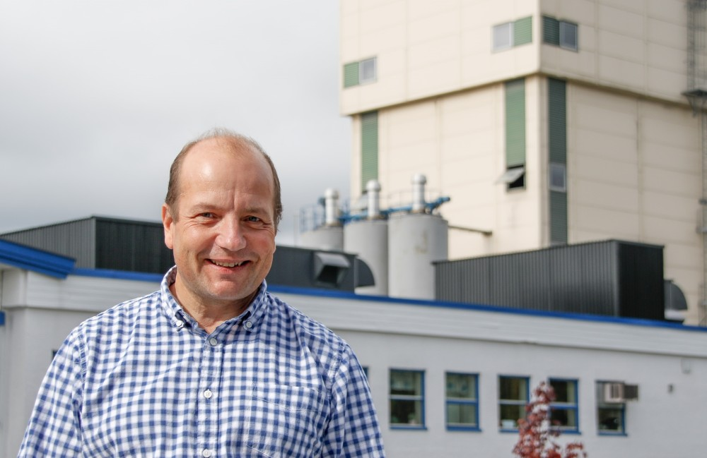 Fabrikksjef Mapei AS, Jan Roger Broen