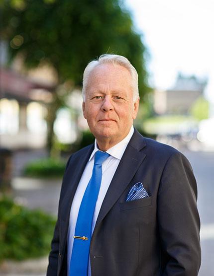 Göran Dahlström, kommunstyrelsens ordförande i Katrineholms kommun