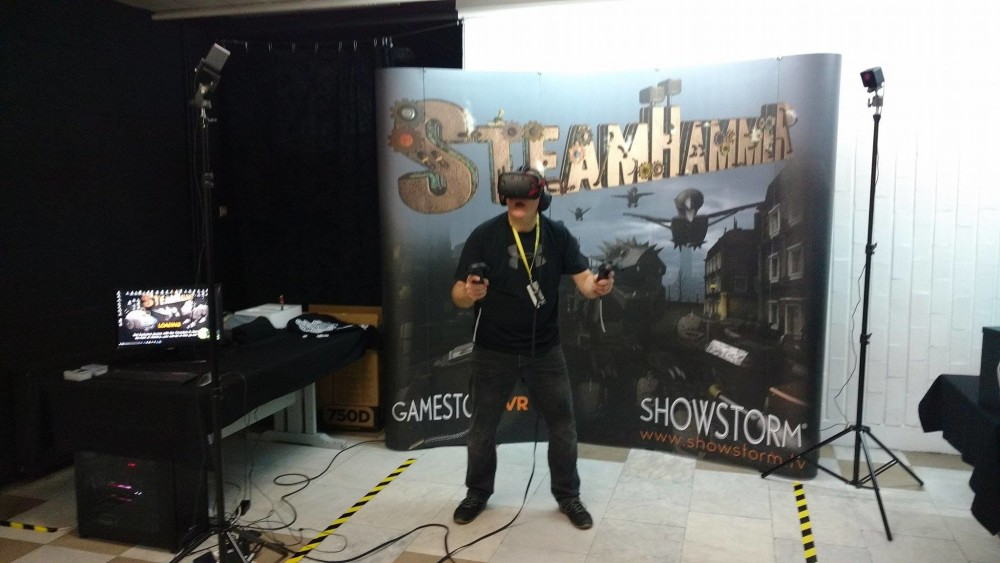 SteamHammer in the Showstorm VR Zone on Tour