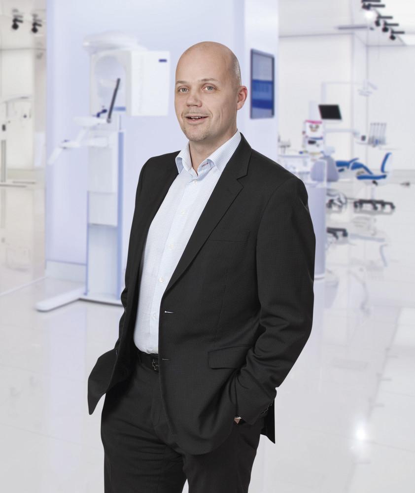 Jouko Nykänen, Planmeca Vice President of Sales