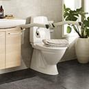 Toalettarmstöd Etac Rex