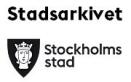 Go to Stockholms stadsarkiv's Newsroom