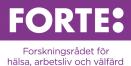 Go to Forte - Forskningsrådet för hälsa, arbetsliv och välfärd's Newsroom