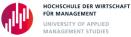 Go to Hochschule der Wirtschaft für Management's Newsroom