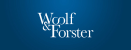 Go to Woolf & Forster's Newsroom
