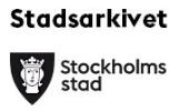 Gå till Stockholms stadsarkivs nyhetsrum