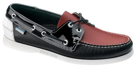 Sebago Trend Docksides Red