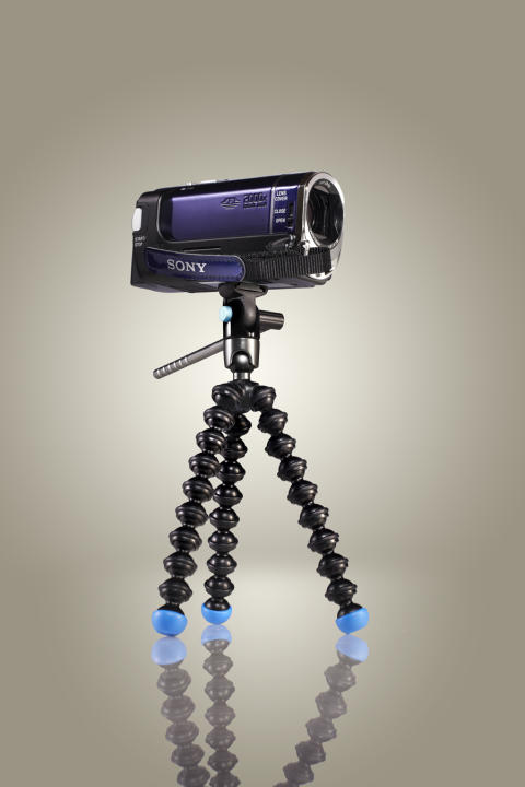 Gorillapod Video m. Sony-videokamera