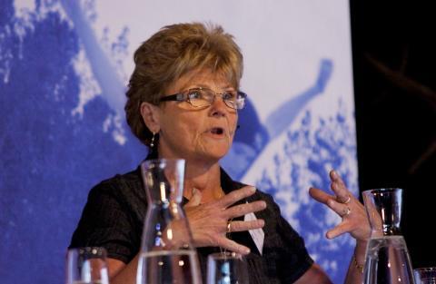 Chatrine Pålsson Ahlgren, riksdagsledamot (kd)
