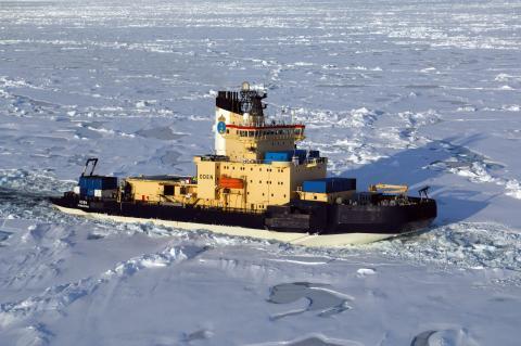 Norra ishavet kallare idag än under den senaste istiden