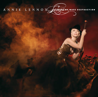 "ANNIE LENNOX NYA ALBUM: ""SONGS OF MASS DESTRUCTION"""