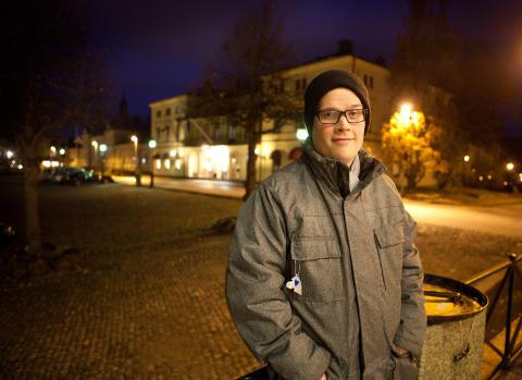 Stefan Jansson på Rådhustorget i Lindesberg_2