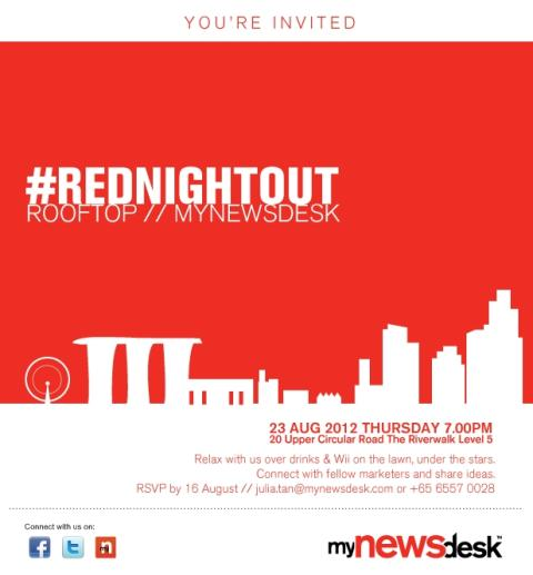 Invitation to #RedNightOut