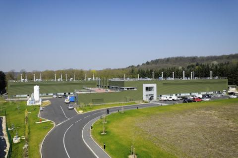 Renaults testcenter for elbiler i Lardy - Frankrig
