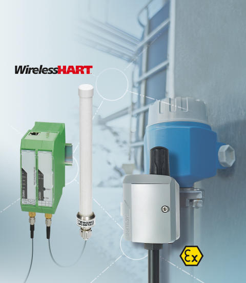 Wireless HART produkter fra Phoenix Contact modtager industriel pris