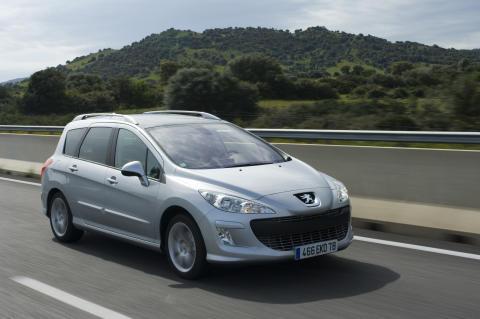 Peugeot 308 SW kombi med automat - nu som miljöbil