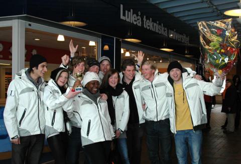 Silver i EM för Snöbollskrigarna från Luleå