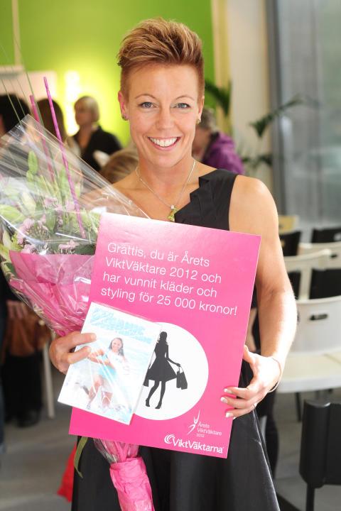 Maria Frid Årets ViktVäktare 2012