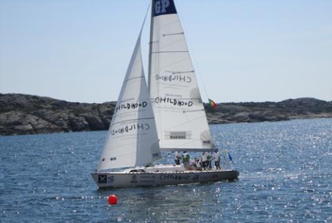 Childhood är Official Charity vid Stena Match Cup Sweden