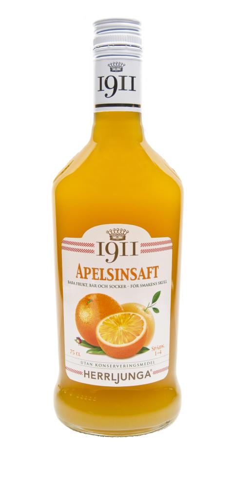 Herrljunga 1911 Apelsinsaft 75 cl