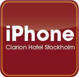 Clarion Hotel Stockholm lanserar en egen iPhone applikation