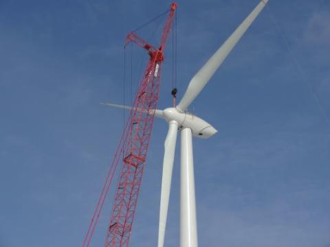 Under construction: US building record 10.3GW of new wind