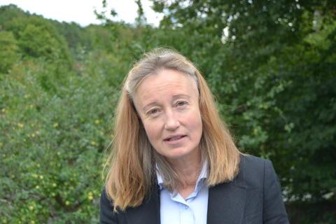 Solveig Larsson Förbundsordförande Jägarnas Riksförbund