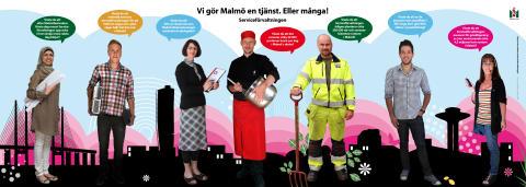 Vi gör Malmö en tjänst. Eller många!