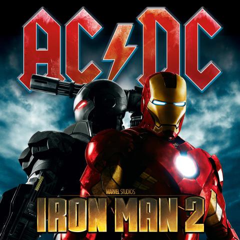 AC/DC släpper soundtrack till Iron Man 2