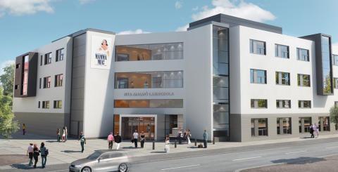 Arkitektbild Nya Malmö Latin