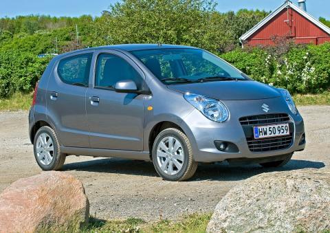 Suzuki Alto, Danmarks billigste 5-dørs bil