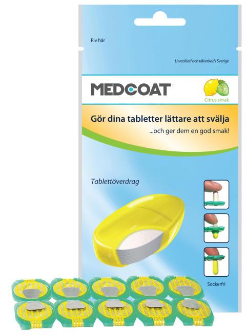 Apoteket AB introducerar: Välsmakande överdrag hjälper barn att svälja medicin