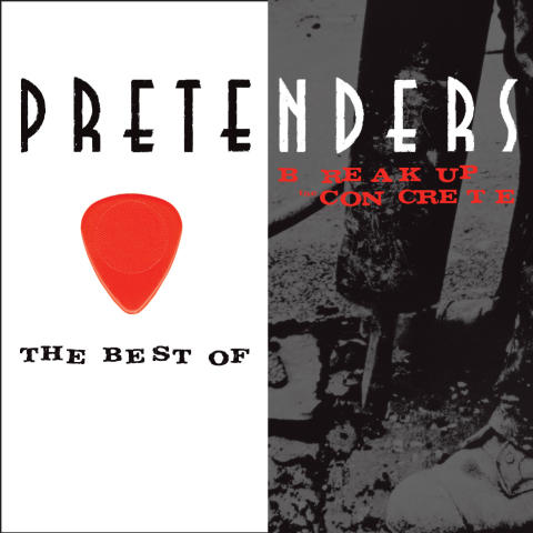 The Pretenders - Break Up The Concrete albumkonvolut