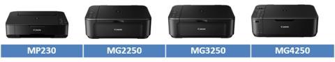 Canon lanserer fire nye multifunksjonsprodukter i PIXMA-serien med nye programvarefunksjoner
