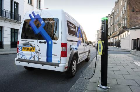 Ford Transit Connect Electric gör debut i Genève