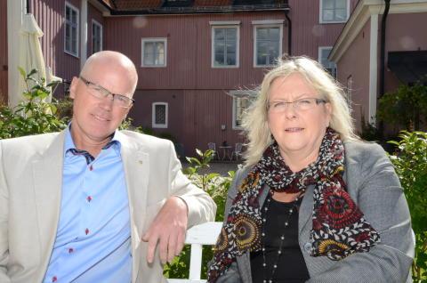 Alingsås kommuns nya chefer för tillväxt, näringsliv och ekonomi blir Cecilia och Håkan