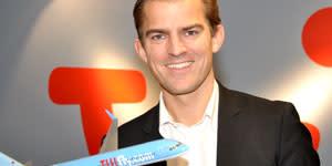 Alexander Huber ny VD för Fritidsresors charterflygbolag TUIfly Nordic - yngst i Norden