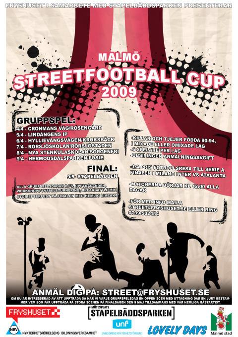 Välkommen till MALMÖ STREETFOOTBALL 2009