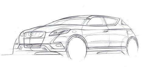Suzuki S-Cross sketch