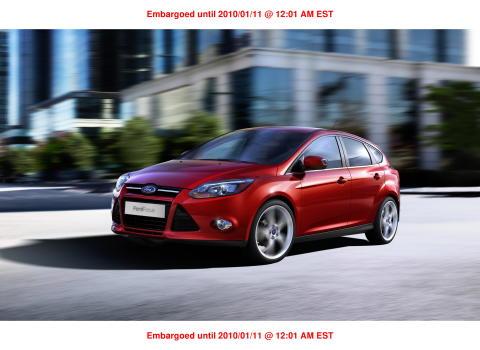 Världsdebut för helt nya Ford Focus på Detroit Motorshow