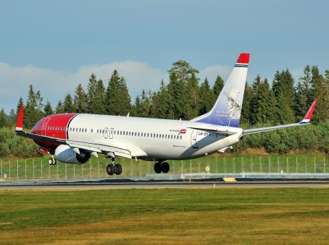 Norwegian-flyet LN-DYH