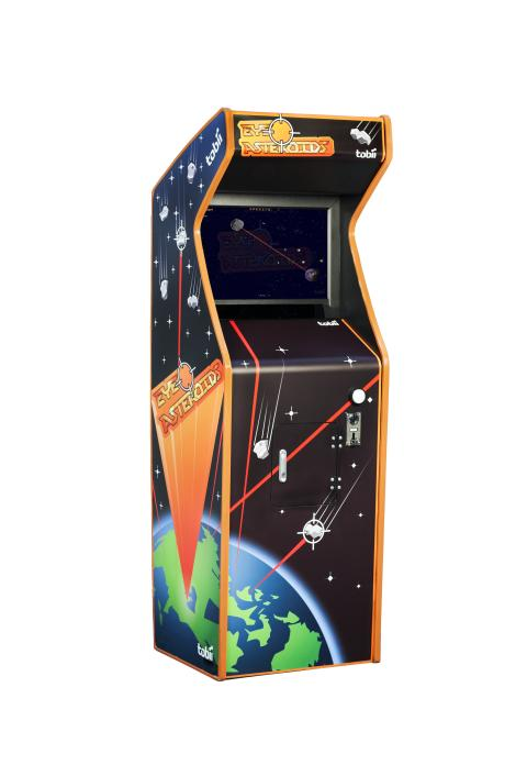 Tobii EyeAsteroids Eye-controlled Arcade Game