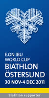Östersundsbostäder stolt sponsor av WC skidskytte i Östersund